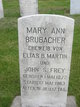 Profile photo:  Mary Ann <I>Brubacher</I> Martin