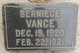 Profile photo:  Berniece Vance