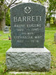 Profile photo:  Ralph Eugene Barrett