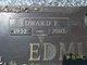 "Edward Francis ""Eddie"" Edmundson"