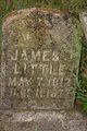 Profile photo:  James Thomas Little