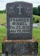 """Franciska """"Frances"""" <I>Schnellenberger</I> Wissel"""