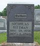 "Nicholas ""Nick"" Sitzman"