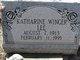Katharine Winger Lee