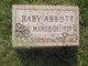 Profile photo:  Baby Abbott