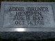 "Profile photo:  Adaline Florence ""Addie"" <I>Bruner</I> Hendren"