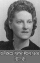 Ida Rebecca <I>Hanner</I> Kavals