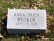 Anna Eliza Becker