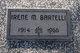 Irene Mildred <I>James</I> Bartelli
