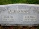 Bertha <I>Kehs</I> Ackerman