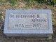 Rutherford B Alston