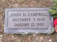 "John H ""Jack"" Campbell"