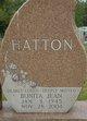 Bonita Jean <I>Bye</I> Hatton