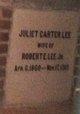 Profile photo:  Juliet <I>Carter</I> Lee