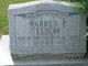 Profile photo:  Warren P Elsom