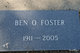 Profile photo:  Benjamin Otis Foster