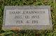"""Sarah J """"Sallie"""" <I>Bullock</I> Rainwater"""