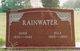 John C Rainwater