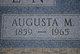 Profile photo:  Augusta <I>Mittanck</I> Bolten