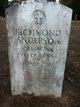 Pvt Richmond Anderson