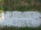 Profile photo:  Audrey Appel