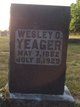 Wesley Cain Yeager