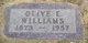 Olive Estelle <I>Rathburn</I> Williams