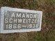 Mrs Amanda <I>Troyer</I> Schweitzer