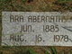 "Profile photo:  Octavia ""Ara"" Abernathy"