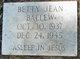Betty Jean Ballew