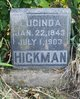Profile photo:  Lucinda <I>Hughs</I> Hickman