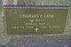 "Charles Edgar ""Chuck"" Lane"