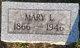 Mary Logia <I>Gooch</I> Hale