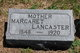 Margaret <I>Knewstubb</I> Lancaster