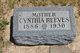 Cynthia <I>Heemstra</I> Reeves