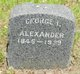 Profile photo:  George I Alexander