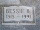 Bessie Bell <I>Lane</I> Minter