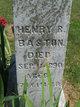 Henry R Baston