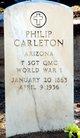 Profile photo:  Philip Carleton