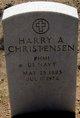 Profile photo:  Harry A Christensen