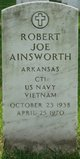 Profile photo:  Robert Joe Ainsworth
