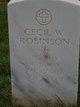 Pvt Cecil W. Robinson