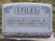 """Anna Susan """"Annie"""" <I>Wilcoxin</I> Stiles"""