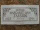 Profile photo:  Margaret Ann <I>Strain</I> Farson