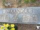 Profile photo:  Minnie Ida <I>Stroud</I> Alexander
