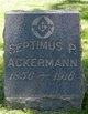 Profile photo:  Septimus P Ackerman
