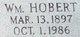 "Profile photo:  William Hobert ""Hobert"" Mason"