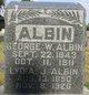 George W Albin