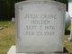 Julia Etta <I>Crane</I> Holden