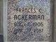 Frances C Ackerman